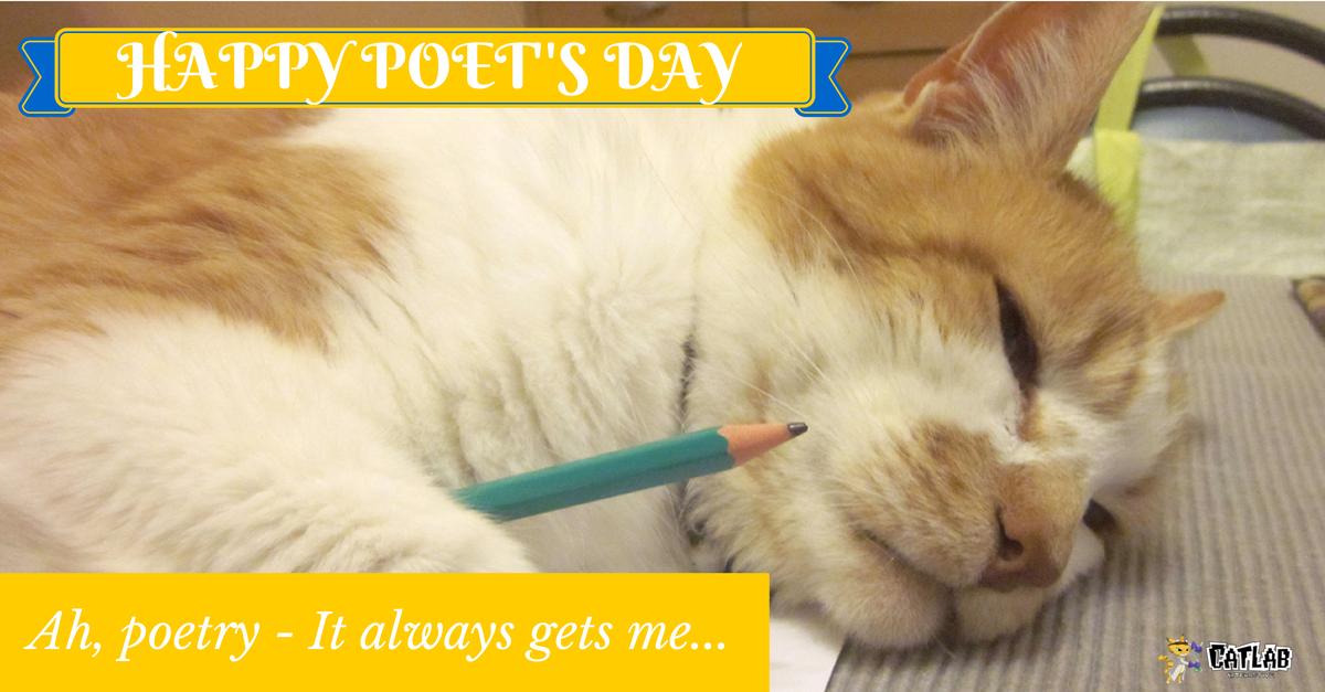 Happy Poet's Day wishes